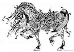 Кудрявая лошадь антистресс