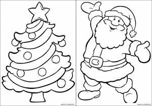 Новогодние раскраски для детей-17