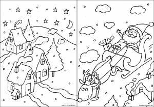 Новогодние раскраски для детей-20