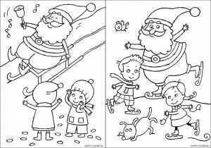 Новогодние раскраски для детей-21