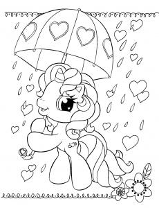 Пони под Зонтиком