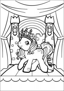 Пони в Короне