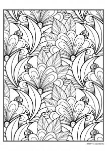 cvetochnyj-uzor-raskraska-antistress-raspechatat-format-A4