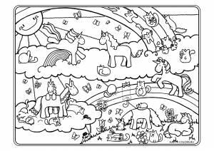 Единороги на радуге