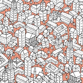 Раскраски Город